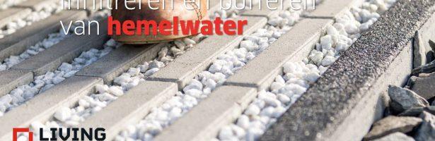Infiltreren en bufferen van hemelwater