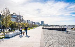 Vernieuwde Scheldekaaien in Antwerpen beste publieke ruimte van Vlaanderen