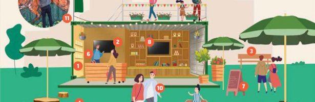 Dorp-kern Gezond: op naar een gezonde, groene buurt met aandacht voor lokale economie en ondernemers