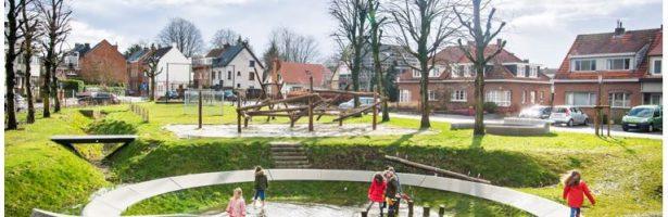 Virtuele excursie: Hemelwateras Edegemsesteenweg, Kontich