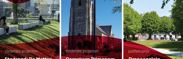 Tongeren en Rijmenam hebben beste openbare ruimten van Vlaanderen